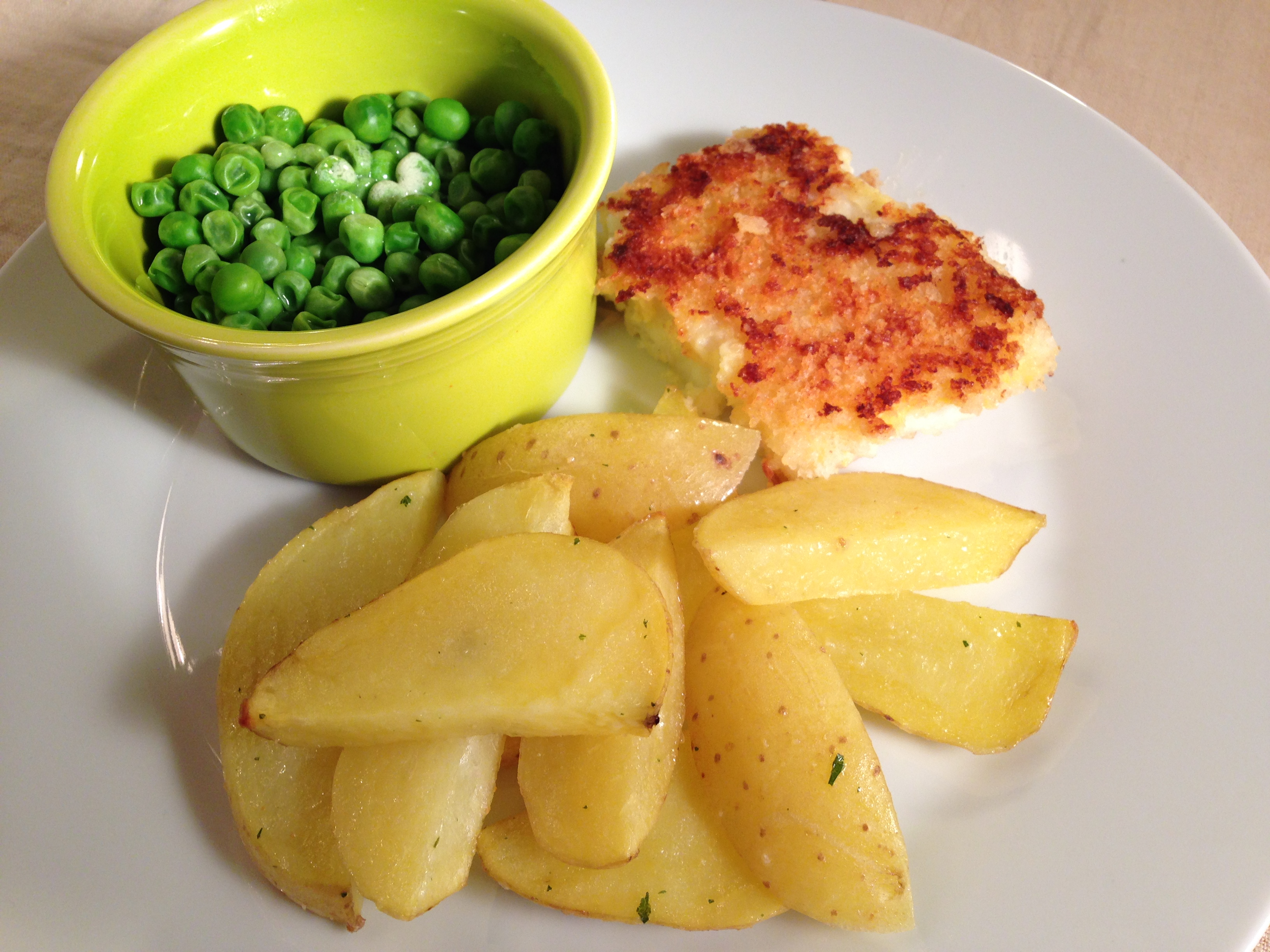 how to make pan fried chips